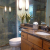 Harrisburg PA Small Transitional Bathroom | Mother Hubbards Custom Cabinetry