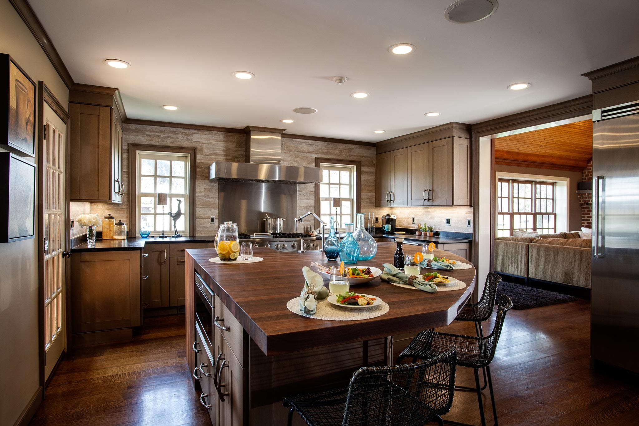 transitional kitchen cabinetry, farmhouse kitchen, Hershey PA